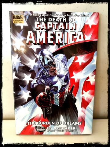 CAPTAIN AMERICA - THE DEATH OF CAPTAIN AMERICA - VOLUME 2: THE BURDEN OF DREAMS - 2007 HARDCOVER