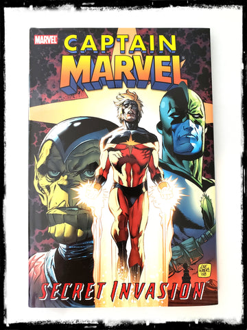 CAPTAIN MARVEL: SECRET INVASION - 2007 HARDCOVER