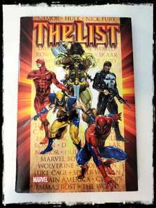 DARK REIGN: THE LIST - 2010 HARDCOVER
