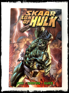 SKAAR SON OF HULK - 2009 HARDCOVER (OUT OF PRINT)