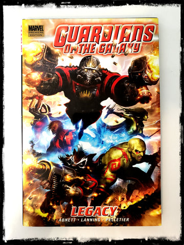 GUARDIANS OF THE GALAXY, VOL. 1: LEGACY - 2008 HARDCOVER (OUT OF PRINT)