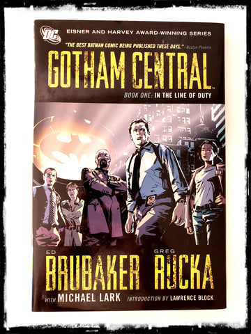 GOTHAM CENTRAL - BOOK ONE: IN THE LINE OF DUTY - 2008 HARDCOVER