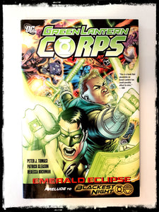 GREEN LANTERN CORPS: EMERALD ECLIPSE - 2009 HARDCOVER