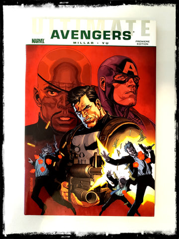 ULTIMATE AVENGERS: CRIME AND PUNISHMENT - 2010 HARDCOVER