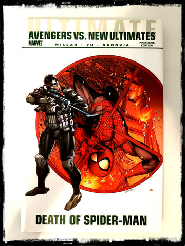 ULTIMATE AVENGERS VS. NEW ULTIMATES: DEATH OF SPIDER-MAN - 2011 HARDCOVER
