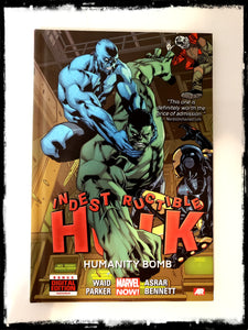 INDESTRUCTIBLE HULK VOL. 4: HUMANITY BOMB - 2013 HARDCOVER