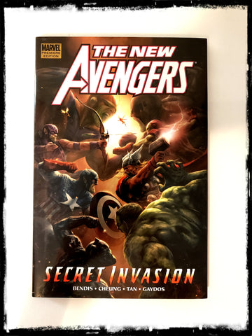 NEW AVENGERS, VOL 9: SECRET INVASION - 2009 HARDCOVER