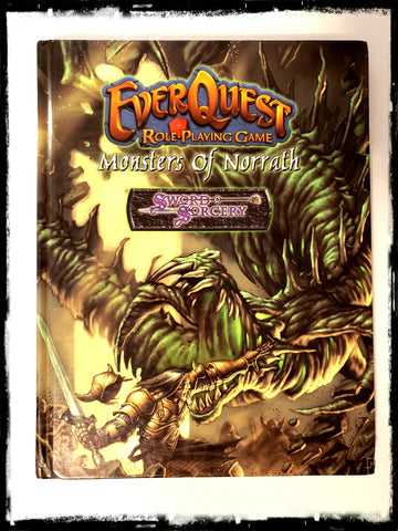 EVERQUEST RPG: MONSTERS OF NORRATH - HARDCOVER