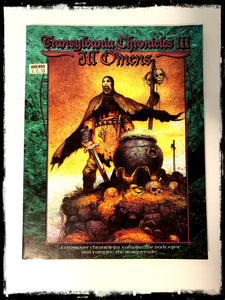 TRANSYLVANIA CHRONICLES III: ILL OMENS (VAMPIRE: THE DARK AGES) - 1999 PAPERBACK