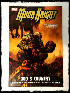 MOON KNIGHT VOL. 3: GOD & COUNTRY - 2008 TRADE PAPERBACK