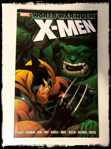 WORLD WAR HULK: X-MEN - 2008 TRADE PAPERBACK