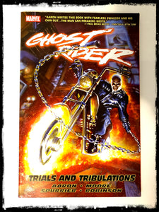 GHOST RIDER: TRIALS AND TRIBULATIONS - 2009 TRADE PAPERBACK (OUT OF PRINT)