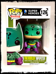 BATMAN - THE RIDDLER IMPOPSTER #126 - FUNKO POP! (2016)