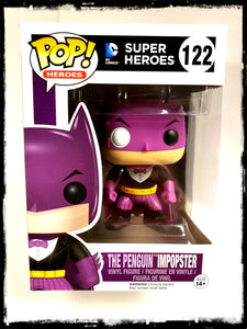 BATMAN - THE PENGUIN IMPOPSTER #122 - FUNKO POP! (2016)