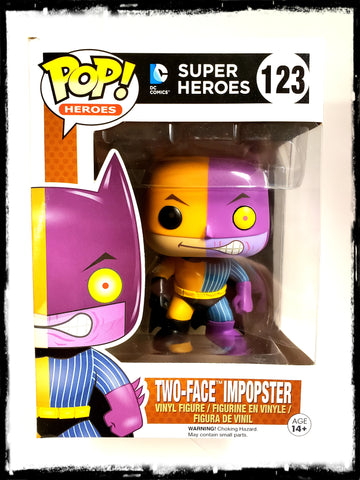 BATMAN - TWO-FACE IMPOPSTER #123 - FUNKO POP! (2016)