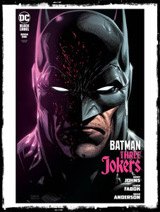 BATMAN: THREE JOKERS - #1 JASON FABOK BATMAN COVER (2020 - NM)