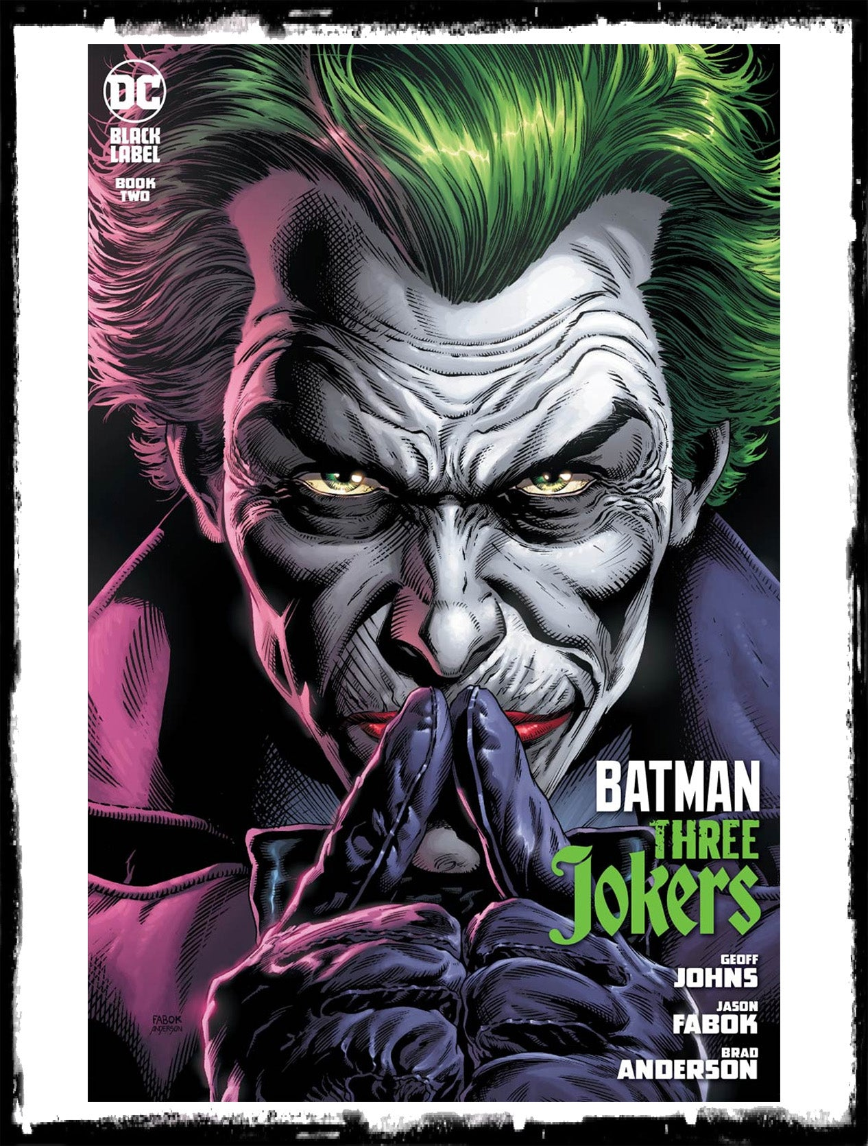 BATMAN: THREE JOKERS - #2 JASON FABOK COVER A JOKER! (2020 - NM)