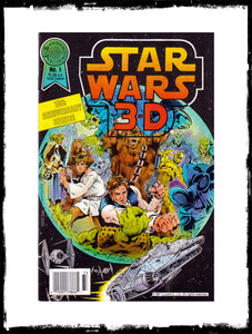STAR WARS 3-D - #1 SECOND PRINTING (1988 - CONDITION NM)