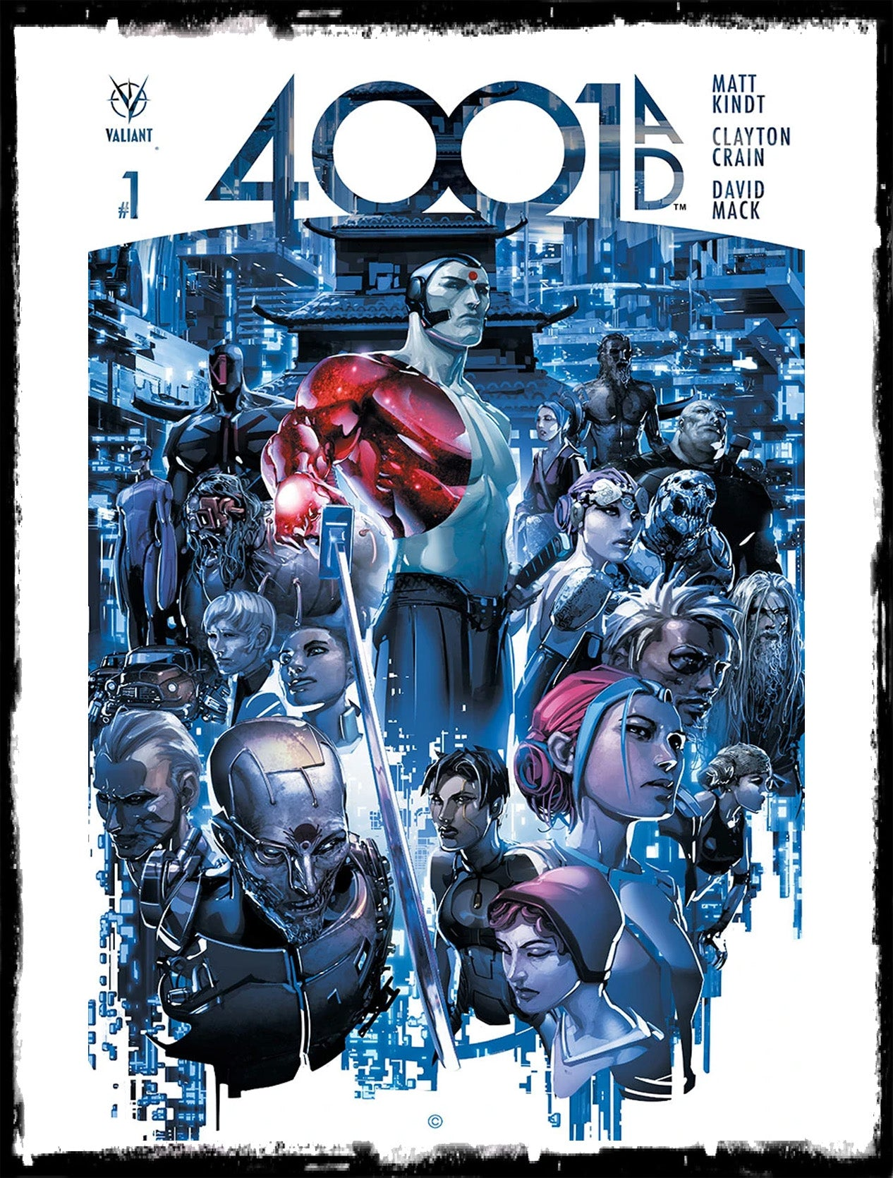 4001 A.D. #1 - CLAYTON CRAIN COVER (2016 - NM)