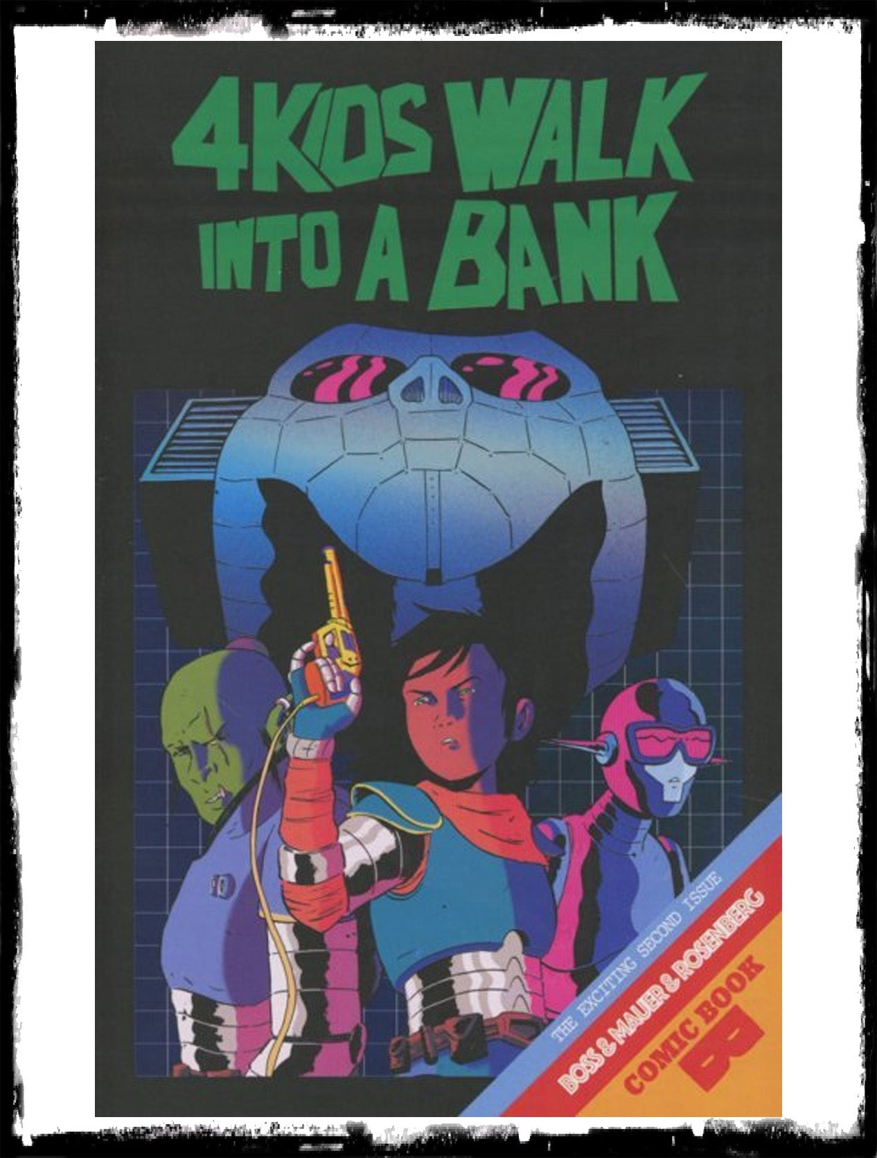 4 KIDS WALK INTO A BANK - #2 (2016 - NM)