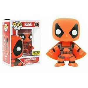 DEADPOOL / STINGRAY #156 - HOT TOPIC EXCLUSIVE! FUNKO POP! (2016)