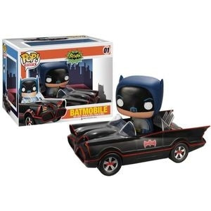 BATMOBILE (CLASSIC) #01 - FUNKO POP! RIDES (2013)