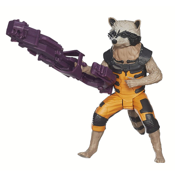 GUARDIANS OF THE GALAXY - ROCKET RACCOON TITAN HERO SERIES ACTION FIGURE!