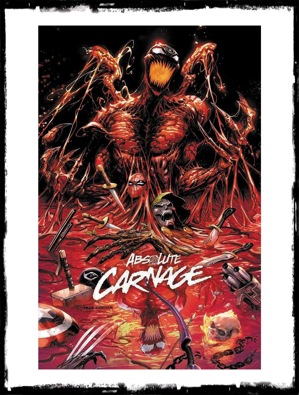 ABSOLUTE CARNAGE - #1 TYLER KIRKHAM VARIANT (2019 - NM)