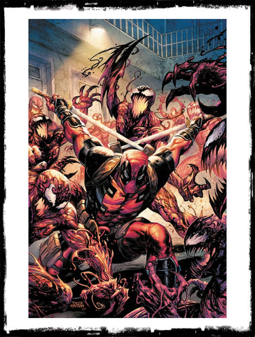 ABSOLUTE CARNAGE VS DEADPOOL - #1 TYLER KIRKHAM VIRGIN VARIANT (2019 - NM)