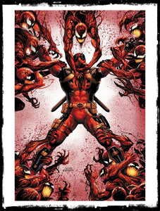 ABSOLUTE CARNAGE VS DEADPOOL - #3 TYLER KIRKHAM VIRGIN EXCLUSIVE (2019 - NM)