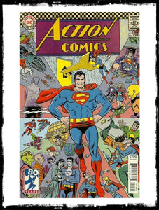 ACTION COMICS - #1000 MIKE ALLRED 1960'S VARIANT (2018 - CONDITION NM)