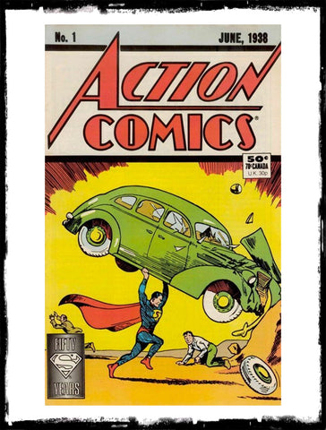 ACTION COMICS - #1 50TH ANNIVERSARY EDITION (1987 - VF-)