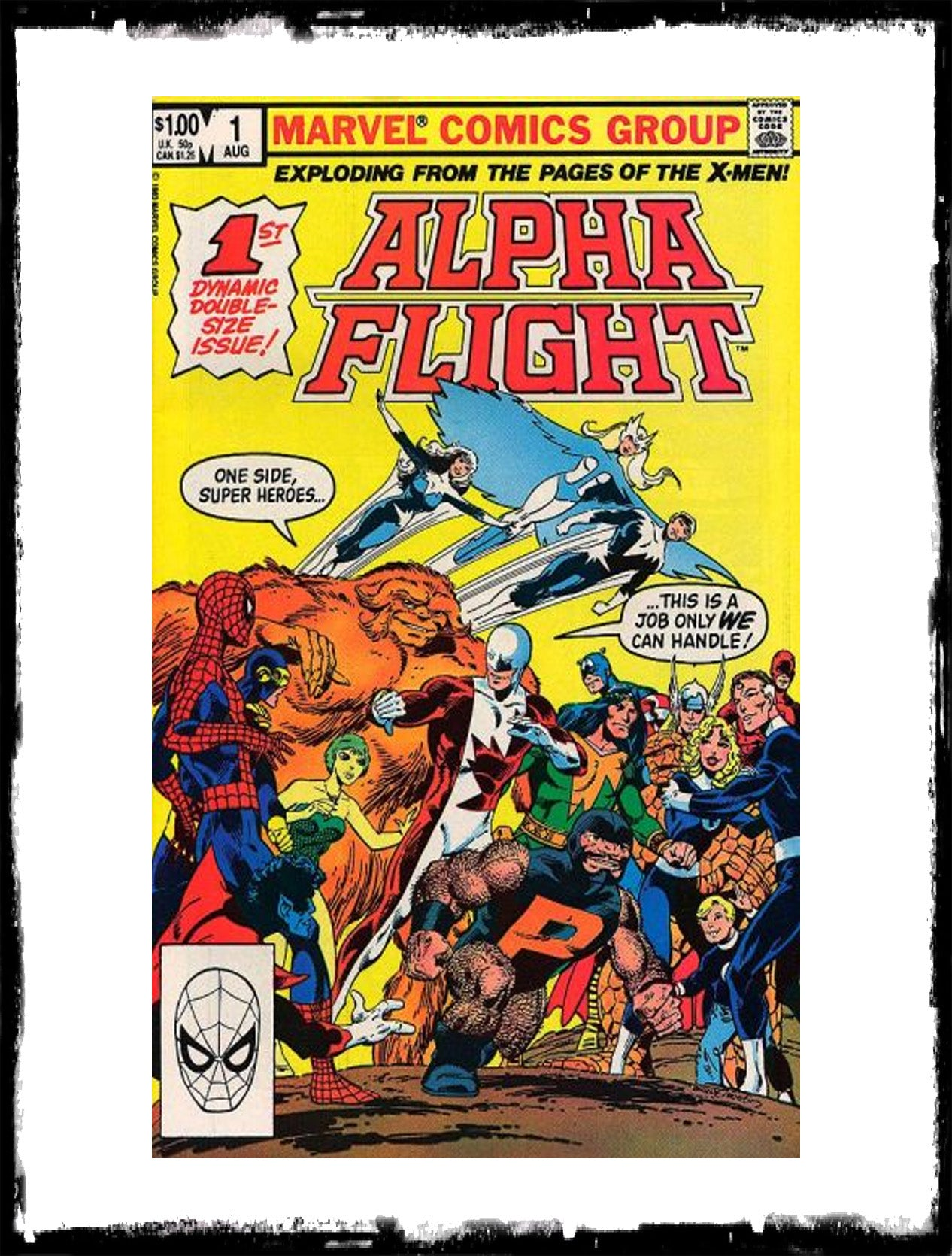 ALPHA FLIGHT - #1 (1983 - CONDITION NM)