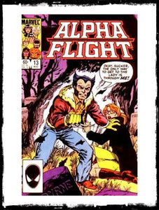 ALPHA FLIGHT - #13 WOLVERINE APP (1984 - VF+ / NM)