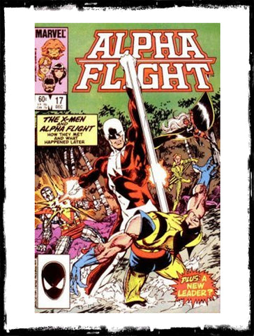 ALPHA FLIGHT - #17 WOLVERINE APP (1984 - VF+ / NM)