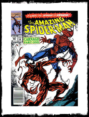 AMAZING SPIDER-MAN - #361 FIRST CARNAGE (1992 - CONDITION VF+/NM)