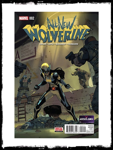 ALL-NEW WOLVERINE - #2 FIRST HONEY BADGER (2016 - VF+/NM)