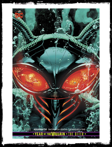 AQUAMAN - #50 RYAN SOOK VARIANT (2019 - CONDITION NM)