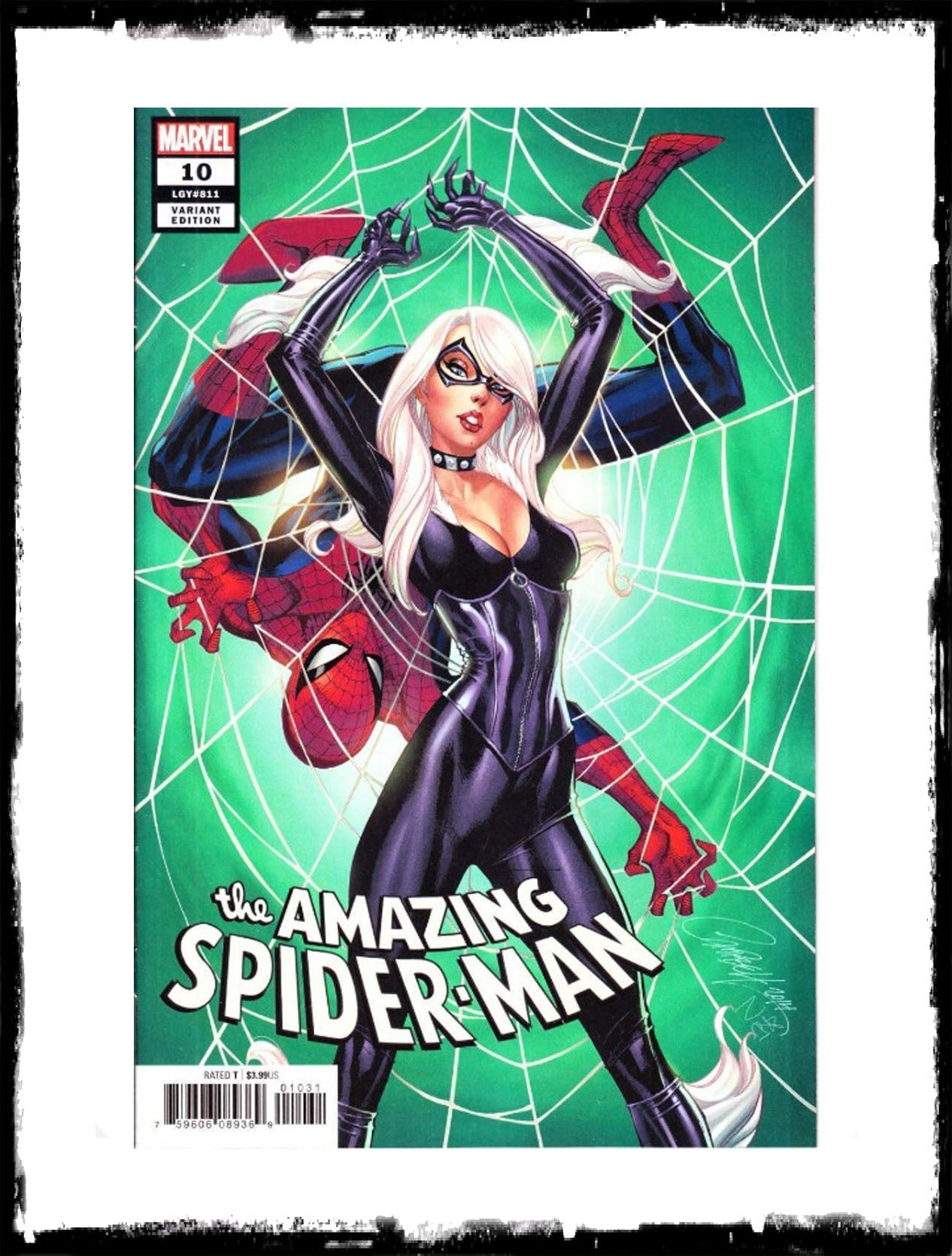 AMAZING SPIDER-MAN - #10 J. SCOTT CAMPBELL VARIANT (2019 - CONDITION NM)