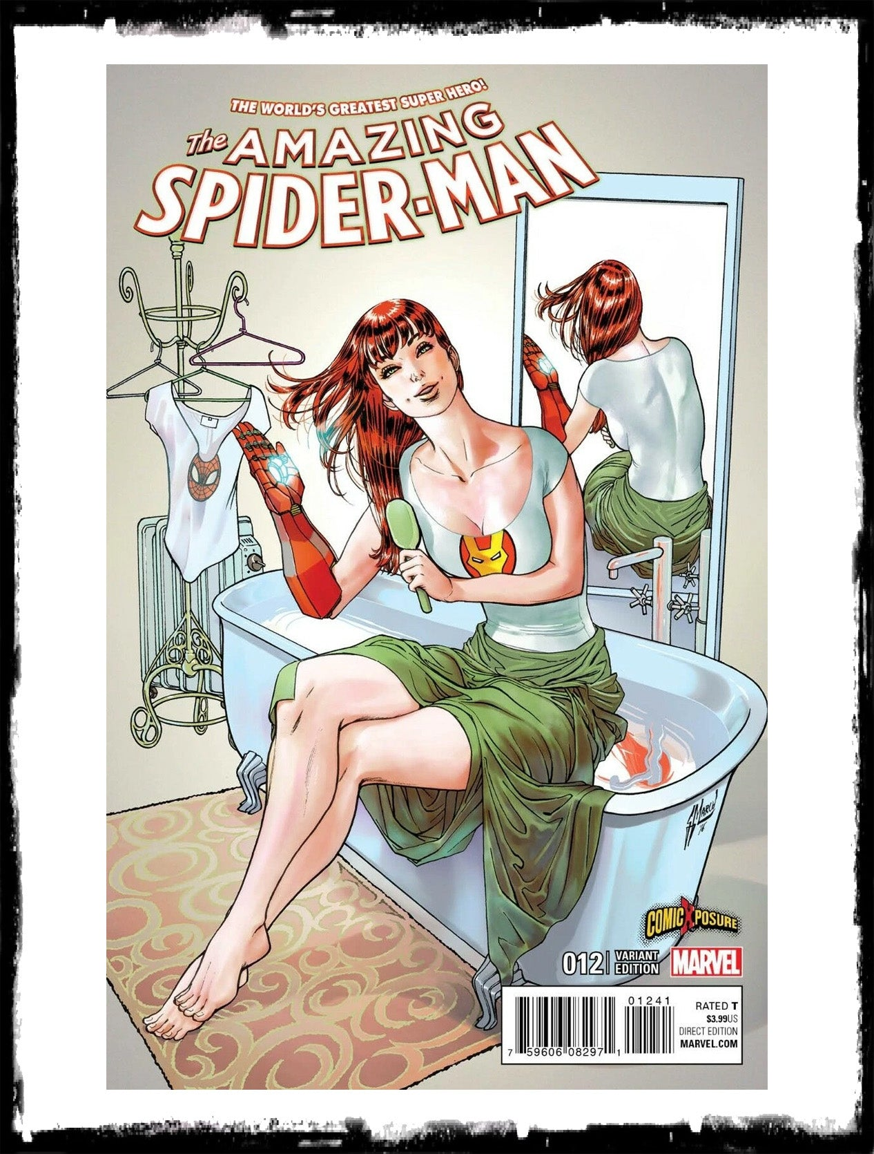 AMAZING SPIDER-MAN - #12 GUILLEM MARCH MARY JANE VARIANT (2018 - NM)