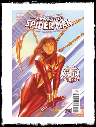 AMAZING SPIDER-MAN - #15 1ST APP OF MARY JANE AS IRON SPIDER / ALEX ROSS COVER (2016 - NM)
