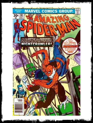 AMAZING SPIDER-MAN - #161 NIGHTCRAWLER VS SPIDEY (1976 - VF+)