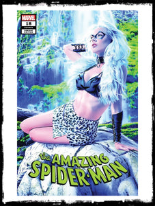 AMAZING SPIDER-MAN - #18 MIKE MAYHEW BLACK CAT VARIANT (2019 - NM)