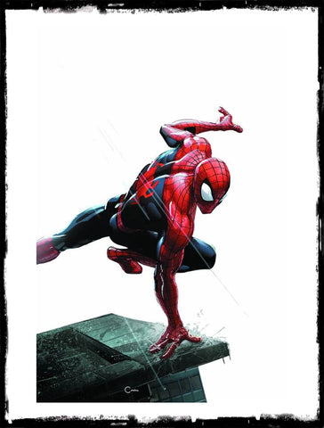 AMAZING SPIDER-MAN - #1 CLAYTON CRAIN MINIMAL VARIANT EXCLUSIVE (2018 - NM)