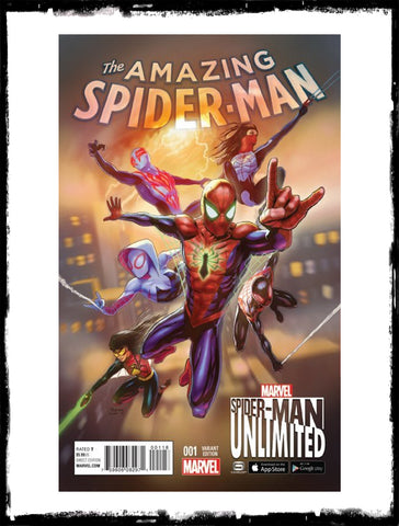 AMAZING SPIDER-MAN - #1 TREVOR COOK VARIANT (2015 - CONDITION NM)
