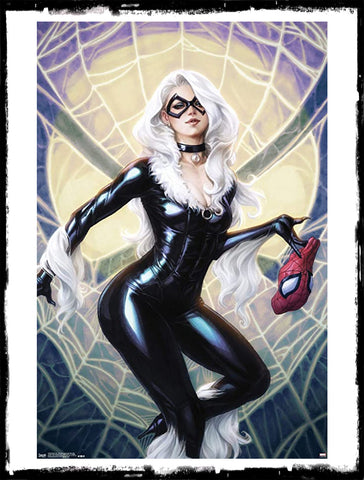 AMAZING SPIDER-MAN - #25 ARTGERM BLACK CAT VIRGIN VARIANT (2018 - NM)