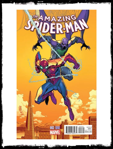 AMAZING SPIDER-MAN - #2 GIUSEPPE CAMUNCOLI VARIANT (2015 - CONDITION NM)