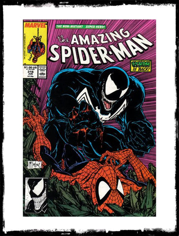 AMAZING SPIDER-MAN - #316 FIRST VENOM COVER (1989 - CONDITION VF/VF+)