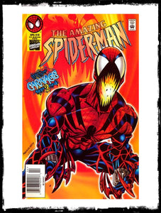 AMAZING SPIDER-MAN - #410 FIRST SPIDER-CARNAGE (1996 - CONDITION NM)