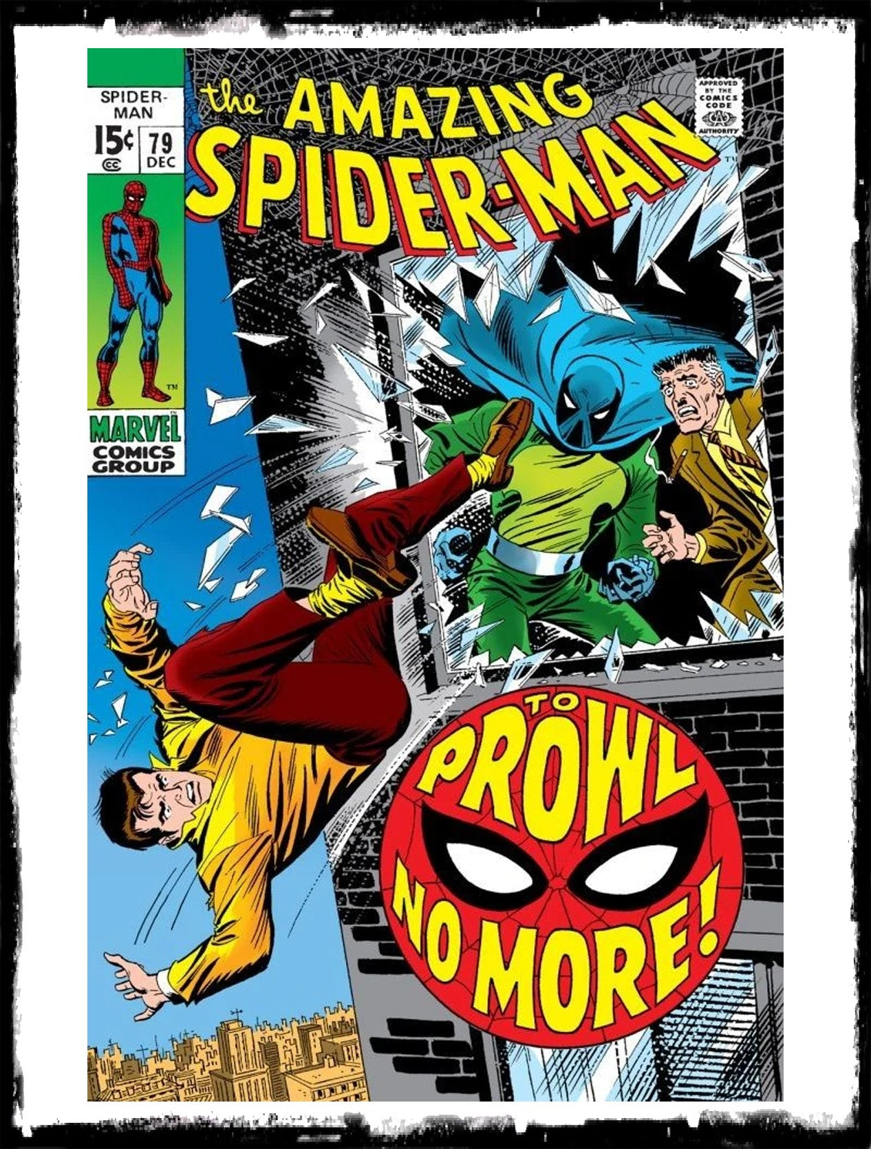 AMAZING SPIDER-MAN - #79 2ND APP OF THE PROWLER (1969 - FN-)